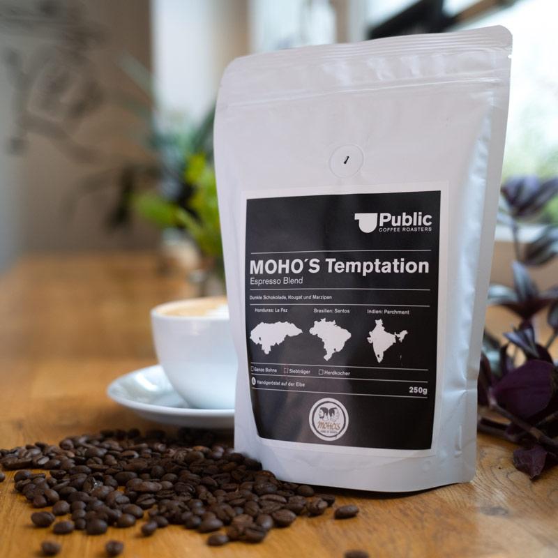 Mohos Temptation Espresso Blend 250g